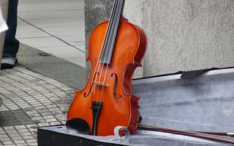 El mejor violinista del mundo tocando en el Metro