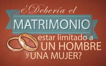 ¿En qué beneficia el matrimonio homosexual a una sociedad?