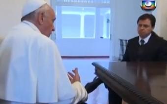 """""""La Iglesia que anhelo"""" (primera entrevista televisada al Papa Francisco)"""