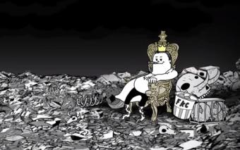 Reinaremos sobre un montón de escombros