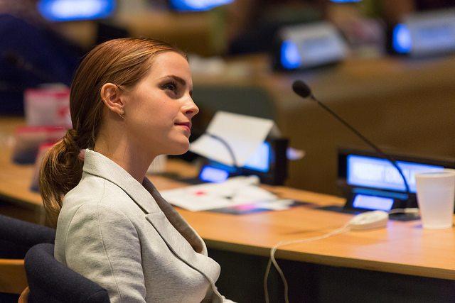Emma Watson en evento de ONU Mujer. Foto: UN Women/Simon Luethi (CC BY-NC-ND 2.0)