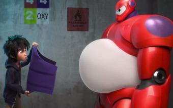 """Tráiler de """"Big hero 6″: ¡Un superhéroe muy atípico! (2014)"""