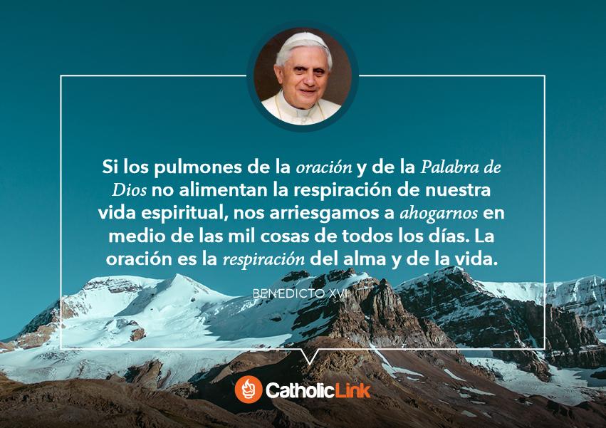 Resultado de imagen para Recopilación de frases de oración de Benedicto XVI