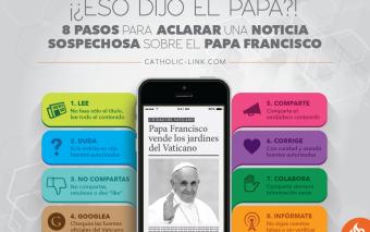 ¡¿Eso dijo el Papa?!: 8 pasos para aclarar una noticia sospechosa sobre el Papa Francisco