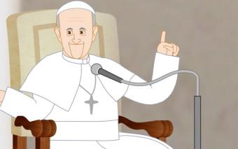 ¿Cómo será la primera serie animada sobre el Papa Francisco? No te pierdas el trailer