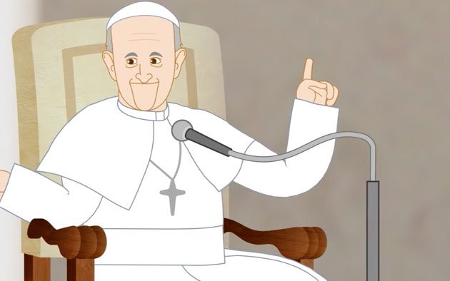 Papa Francisco serie animada