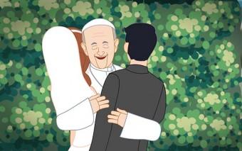 """Un minuto con Francisco: """"El secreto de un noviazgo perfecto"""""""