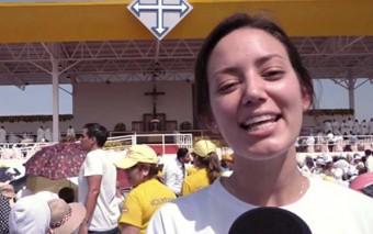 """(Vlog de Kristina) """"El mejor vino está por venir"""" – El Papa Francisco en Guayaquil"""