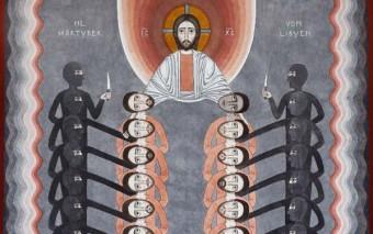Los 21 mártires cristianos permanecerán vivos en nuestra memoria a través de este hermoso icono