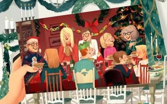 En la familia el amor está hecho de cotidianidad. 12 ilustraciones que lo confirman