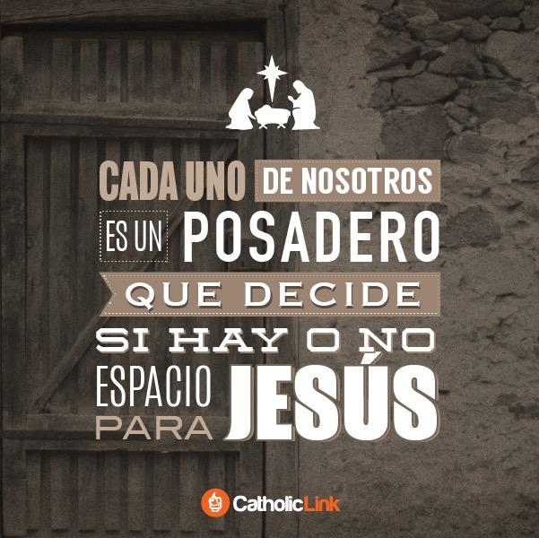 posadero jesus - adviento