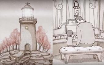 «El faro» un precioso corto animado sobre la paternidad y la transmisión de la vida