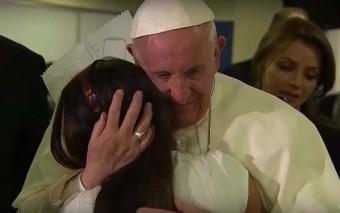 Un emotivo video con los mejores momentos del Papa Francisco en México