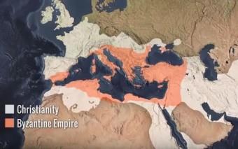 La expansión del cristianismo en 1:30 minutos