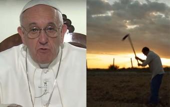 El Papa quiere que recemos este mes por los pequeños agricultores y su justa remuneración