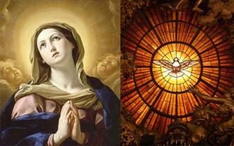 Las dos hermosas promesas que nos deja Jesús: su Espíritu y su Madre (comentario al Evangelio)