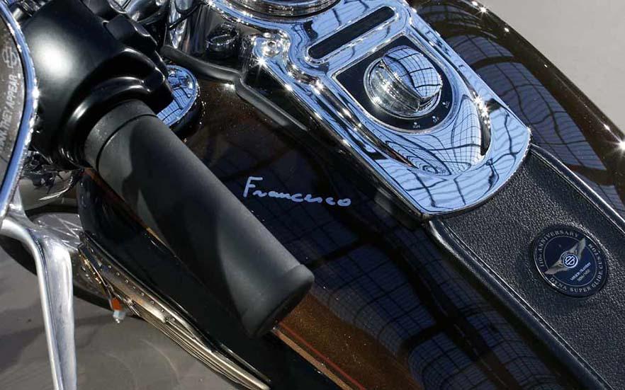 Moto obsequiada al Papa Francisco | ©eltiempo.digital