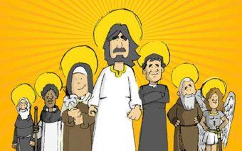 9 santos que eran superhéroes en su tiempo libre (¡y su gran capitán!)
