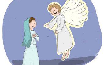 5 lecciones de feminismo que le dio la Virgen María al Ángel Gabriel