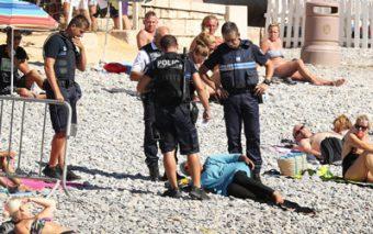 (DEBATE) ¿Qué opinas de esta foto?: «Alerta, musulmana sin bikini»