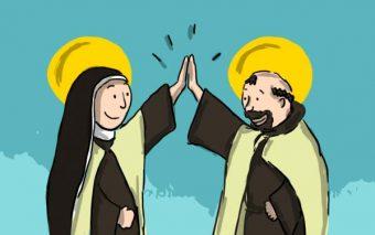 Cuando los santos son amigos… 10 historias inigualables