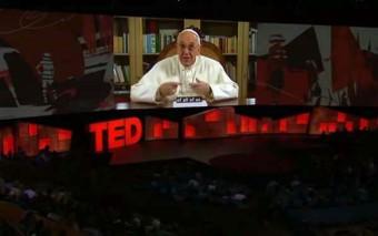 (Viral) El Papa Francisco nos sorprende con su participación en TED Talk
