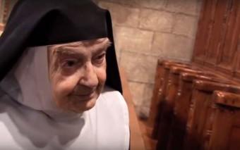 ¿Qué haces durante 86 años en un convento de clausura? El testimonio de Sor Teresita