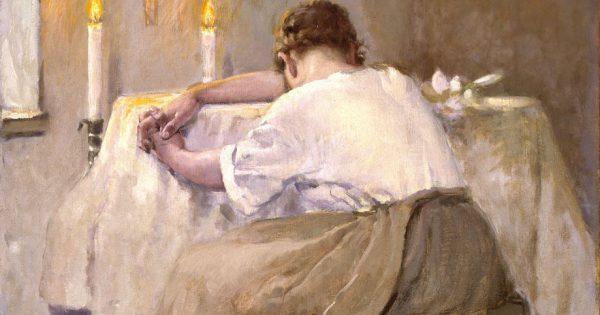 Robert Reid Her First Born 1888 e1408485928188