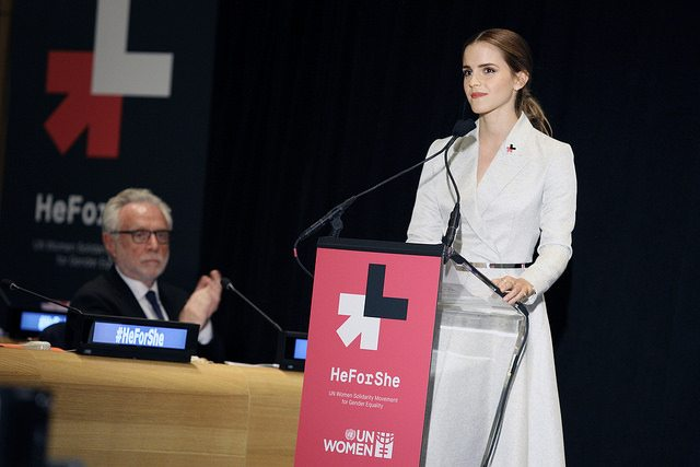 Emma Watson. Foto: UN Women/Simon Luethi (CC BY-NC-ND 2.0)