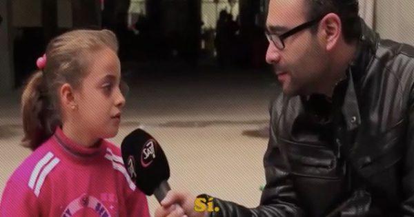 nina refugiada testimonio