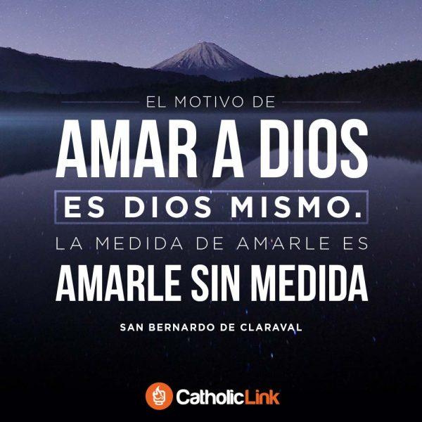Amar a Dios es amarle sin medida | San Bernardo