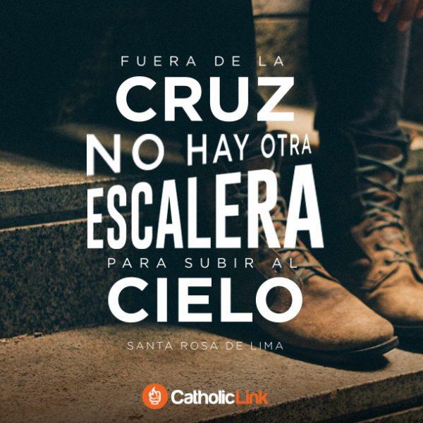 Fuera de la Cruz hay otra escalera al Cielo | Santa Rosa de Lima