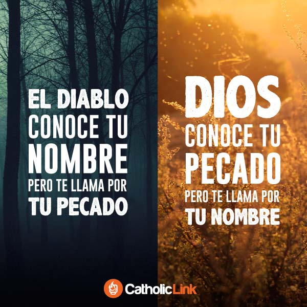 Dios conoce tu pecado, pero te llama por tu nombre