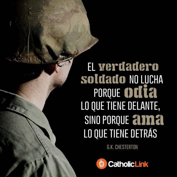 El verdadero soldado | G.K. Chesterton