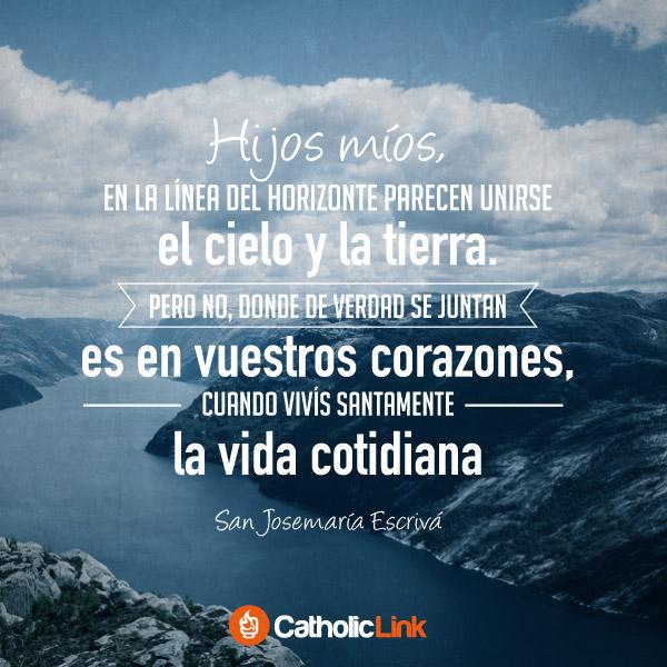 Santidad en la vida cotidiana | San Josemaría Escrivá