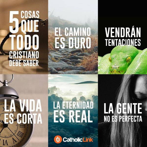 Infografía: 5 cosas que todo cristiano debe saber