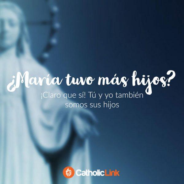 ¿María tuvo más hijos además de Jesús?