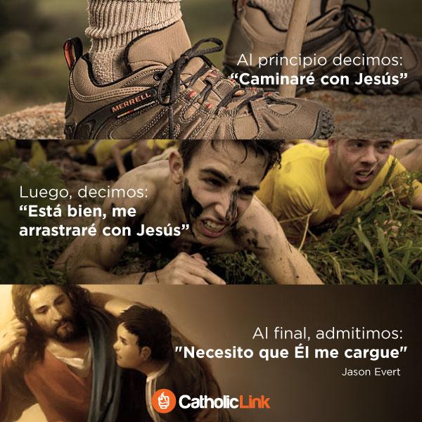 Dejémonos cargar por Jesús, Jason Evert