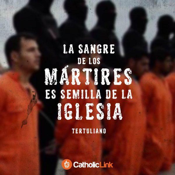 La sangre de los mártires es semilla de la Iglesia | Tertuliano