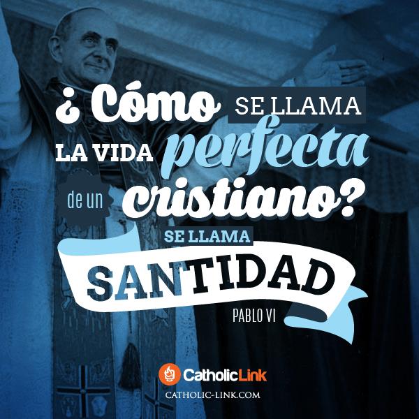 La vida perfecta de un cristiano Pablo VI