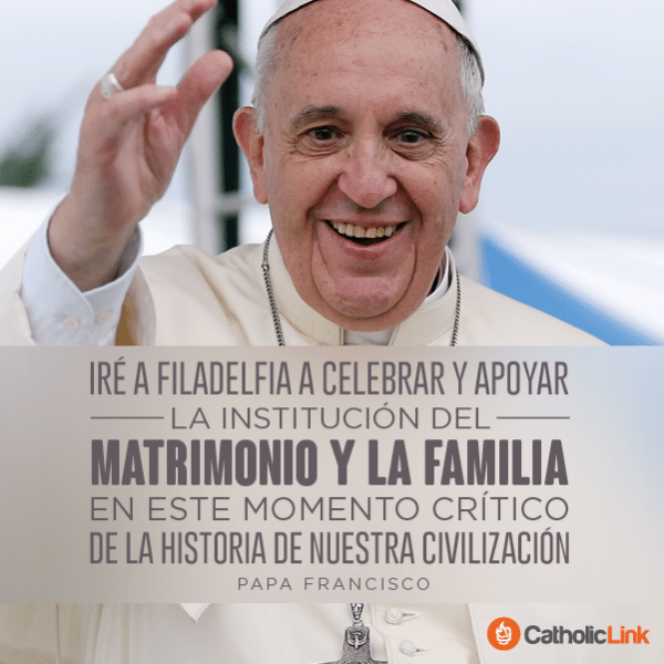 La familia Papa Francisco