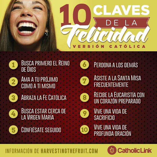 Infografía: 10 claves para ser feliz
