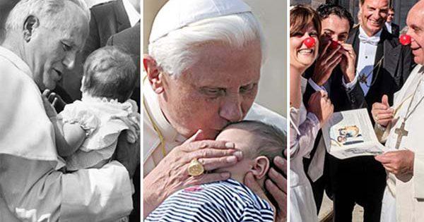 Las 10 mejores frases de los Papas sobre la familia