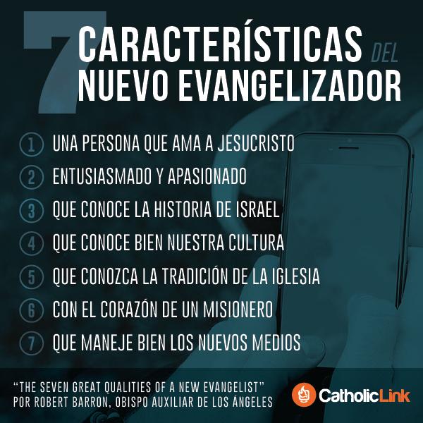 Infografía: 7 características del nuevo evangelizador