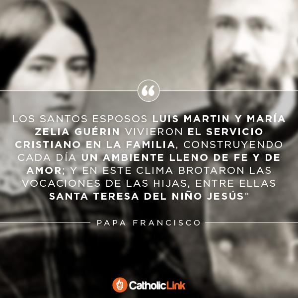 San Louis y Zelie Martin, padres de Santa Teresita del Niño Jesús