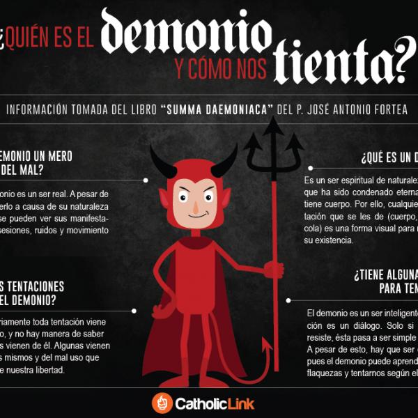 Infografía: ¿Quién es el demonio y cómo nos tienta?