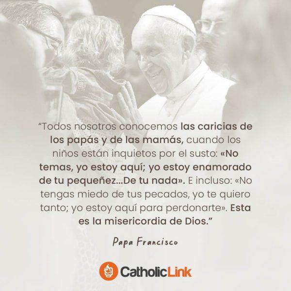 La misericordia de Dios según el Papa Francisco