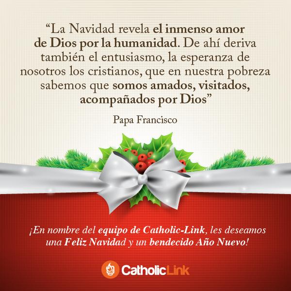 La Navidad revela el amor de Dios por la humanidad, Papa Francisco