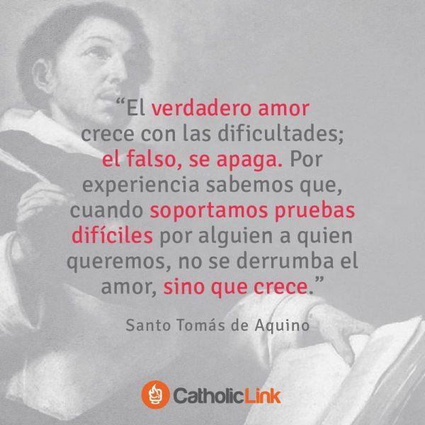 El amor verdadero | Santo Tomás de Aquino