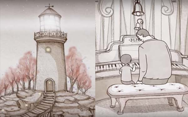 Paternidad, «El faro» un precioso corto animado sobre la paternidad y la transmisión de la vida